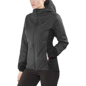 Black Diamond First Light Hybrid Hoodie Jacket Damen smoke